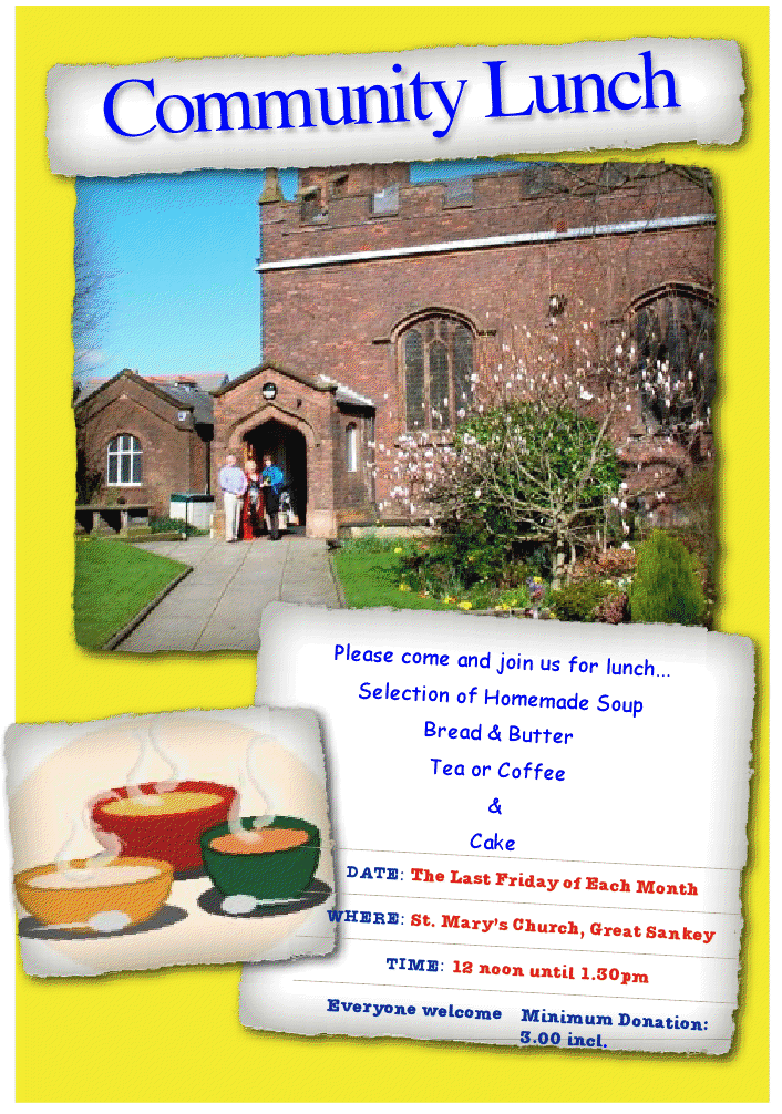 St Mary's Community Lunch